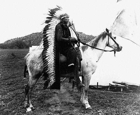 Comanche Native Americans (Indians)