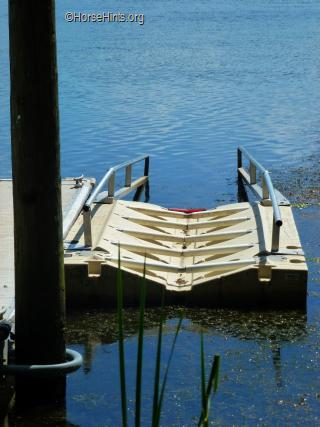 Image: CopyrightHorseHints.org/Mallows Bay Boat Ramp