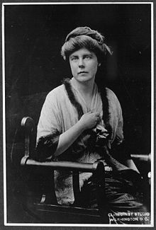 Image: Lucy Burns 1913/Licensed under Public Domain via Wikimedia Commons