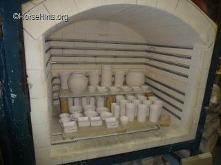 Kiln for pottery making/Shanty town.